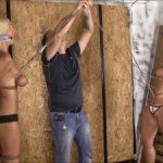 Bondage and very predicament for a sexy two sexy girls