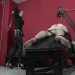 Slave gets wrecked Starring Mistress Anette