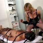 TS Lady Sonia and TS Rebecca - Hooded and Interrogated